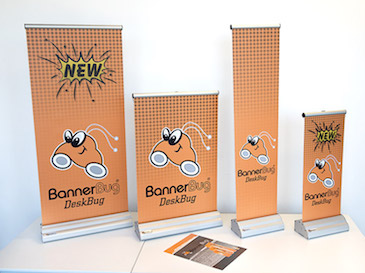 Pull-up Banners - Australian made - Pull up banner Model: Banner Bug - 1200 x 2170 mm
