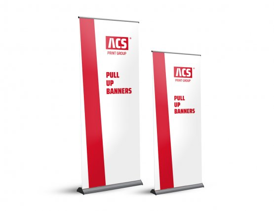 Pull-up Banners - Australian made - Pull up banner Model: Banner Bug - 850 x 2170 mm