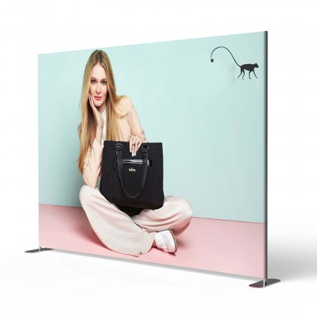 Stretch Fabric Media Walls - No of Sides:: Double sided, Popular sizes: 1570  x 1060 mm, Optional Extras: None